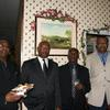 "Guest, Bonner, Brooksie & Guest  @ Repass - Victor ""Churchill""  Lodge Home Going - May 5, 2012, Toronto, Canada"